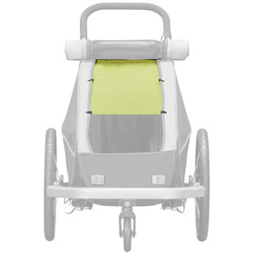 Croozer Sun protection Til Kid Plus / Kid før 1 Børn, lemon green